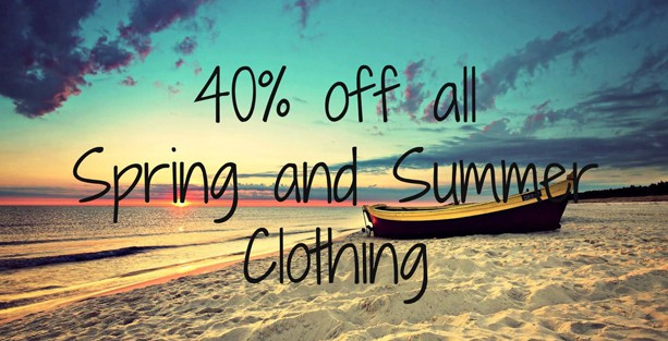 40% off All Summer Clothing at L & Co!